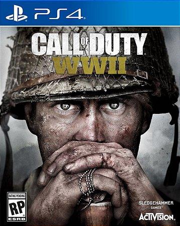 Call Of Duty Ww2 - Ps4 Mídia Física Novo Lacrado