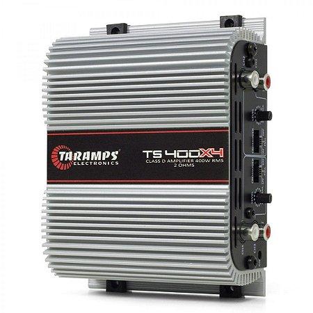 Amplificador Taramps TS400x4 400Wrms 4 canais 2ohms