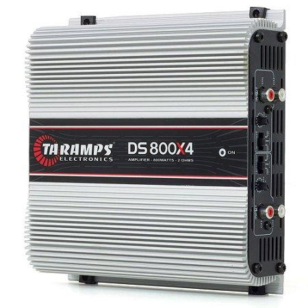 Amplificador Taramps DS 800x4 800Wrms 4 Canais