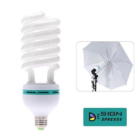Lâmpada Fluorescente 150w 110v 5500k Estúdio Fotográfico