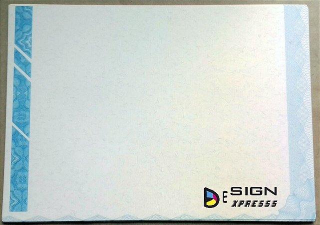 Papel Moeda A4 para Diplomas  ( Modelo 05 ) _10Unid