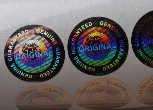 Selo Holográfico Void Original Genuine Guaranteed  ( Modelo 01 ) - 100 Unid