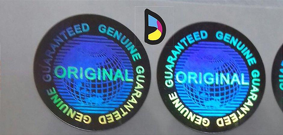 Selo Holográfico Void Original Genuine Guaranteed - Modelo 01