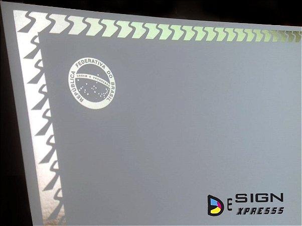 Certificado Diploma Bordas Dourada ou Prata  (Modelo 07)