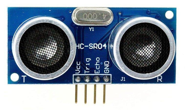 Sensor de Distância Ultrassônico HC-SR04 para arduino
