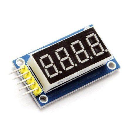 Módulo 74HC595 com Display 4 Digitos