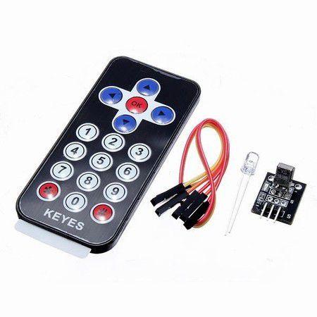 Kit Controle Remoto Infravermelho + Receptor + Emissor