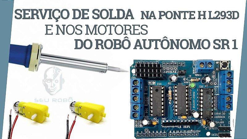 Serviço de Solda Do Robô Autônomo SR 1