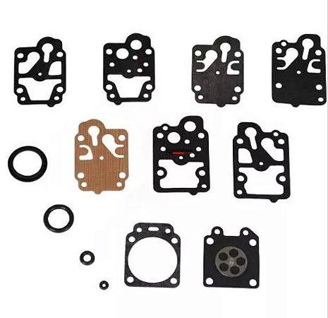 Jogo de Juntas / Reparo Carburador Roçadeira Toyama Original