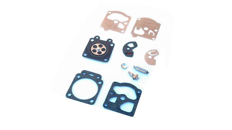 Reparo Carburador Walbro c/ Agulha Stihl FS85 / FS86 / FS106