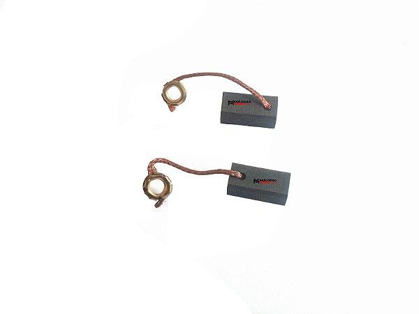Escova Carvão Compatível Bosch Retifica 1205 / Tico Tico 1577 / Furadeira 1327