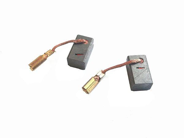 """Escova Carvão Esmerilhadeira Bosch GWS 7 115 """"Fina"""""""