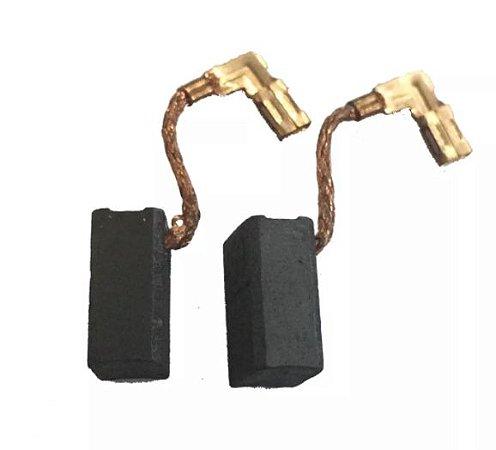 Escova Carvão Esmerlhadeira Makita GA4530 GA4534 GA5030 JS1601 MRH200