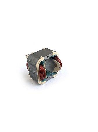 Estator 110v Eletrosserra Tekna ES1800 / ES1850 Modelo 2012