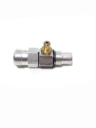 Conector Saída Água Lavadora Tekna HL2200V / HL22001V / HL22002V
