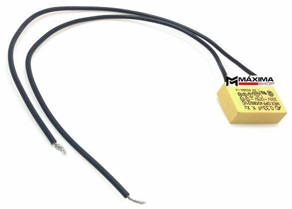 Capacitor Roçadeira Tekna BC1200SS / Eletrosserra ES2200 ES2400