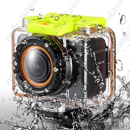 Câmera Filmadora Prova D Aguá piscina Capacete bike