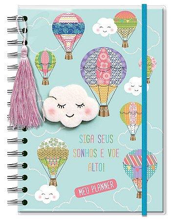 Planner Permanente M Nuvem e Balão