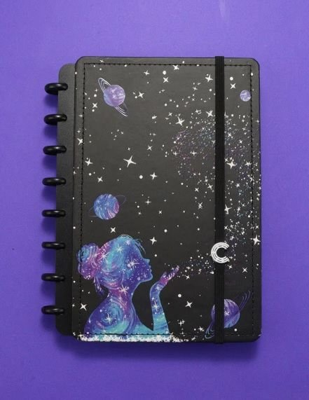 Caderno Inteligente By Gocase Poeira Das Estrelas A5