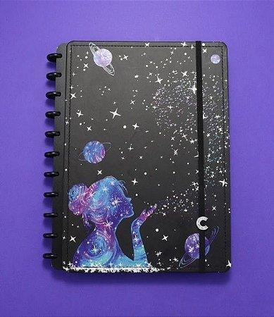 Caderno Inteligente By Gocase Poeira Das Estrelas Grande