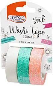 Fita Washi Tape Glossy