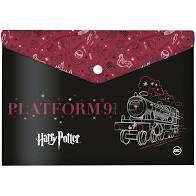 Pasta Malote com botão Harry Potter Dac