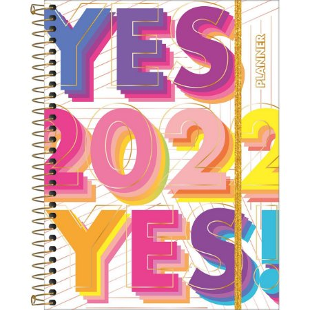 Planner 2022 Be Nice Yes Tilibra