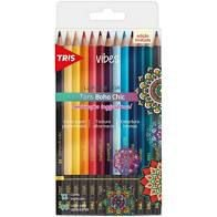 Lápis de cor 12 cores  Vibes Tons Boho Chic