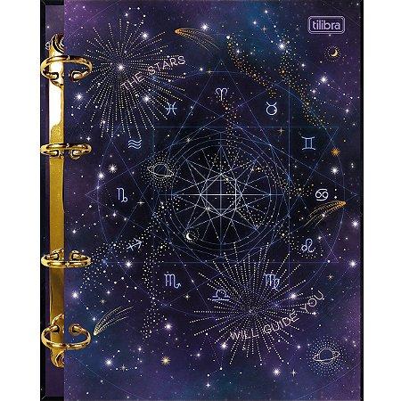 Caderno Argolado Cartonado Colegial Magic Tilibra