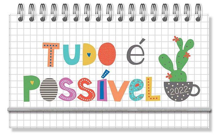 Agenda Mini Frases coloridas