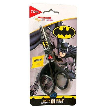 Tesoura Escolar Batman Tris