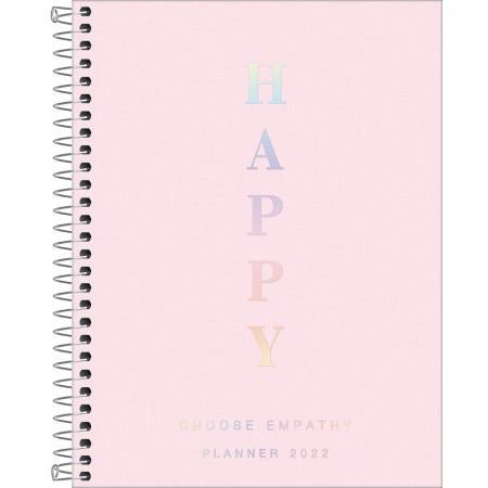 Planner Espiral Happy Rosa 2022