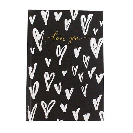 Caderno A5 Brochura Love You