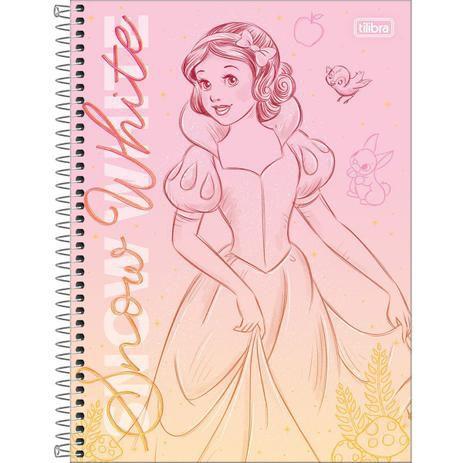 Caderno Princesas 1 materia Tilibra Unitario