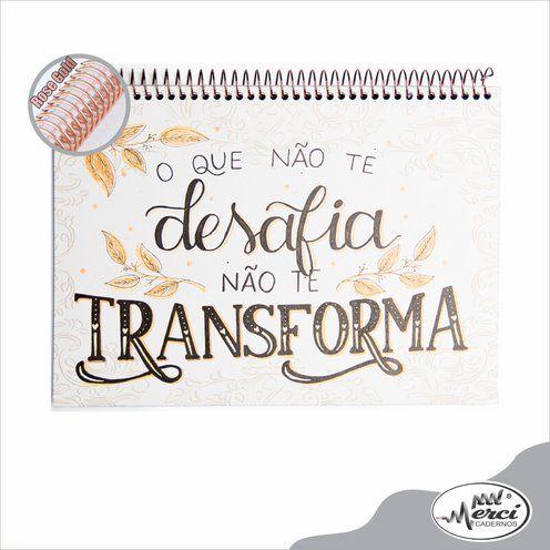 Caderno Lettering Partners Pontilhado 180g