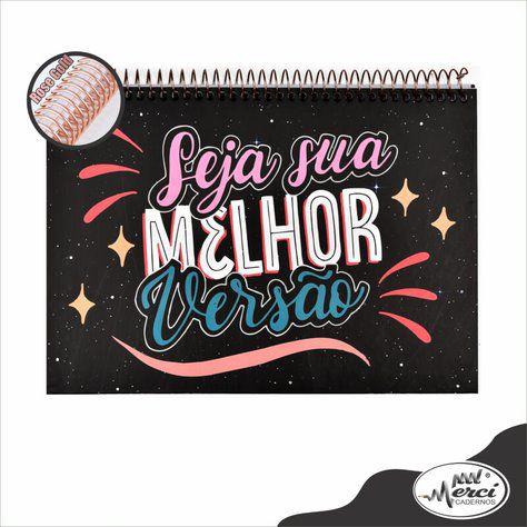 Caderno Lettering Partners Pontilhado Merci 180gr
