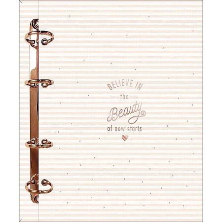Caderno Argolado Cartonado Colegial Soho Tilibra