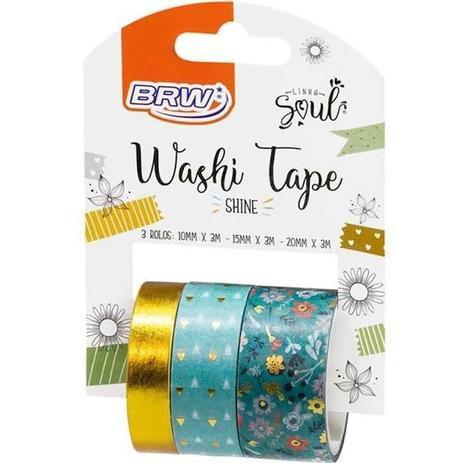 Fita Washi Tape Soul  Shine WT0400 BRW