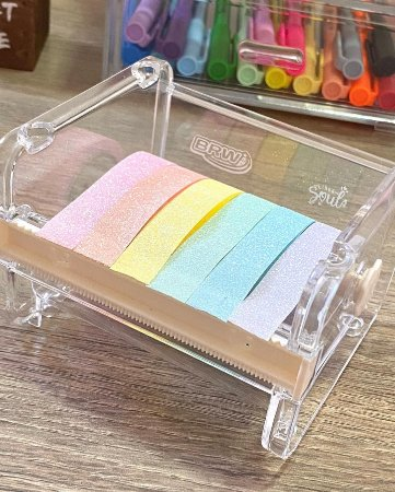 Fita Washi Tape Pastel Trend Leo Arte