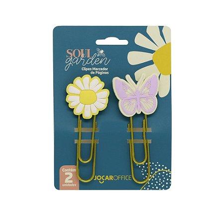 Clipes Soul Garden Margarida  c/2