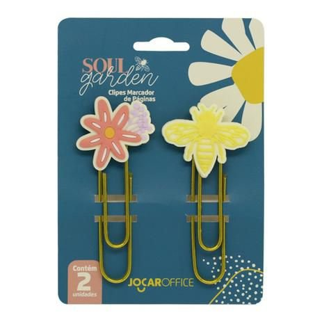 Clipes Soul Garden Abelha c/2