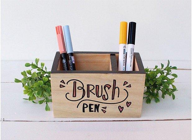 Porta Lapis Brush Pen Grande Papelote