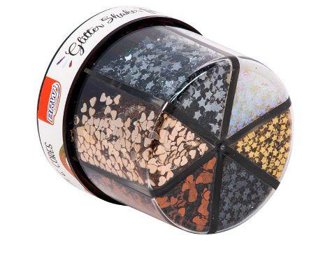 Glitter Shaker Fashion 60g - 6 cores