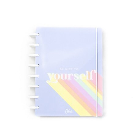 Caderno A5 Be Nice  Yourself White Oba