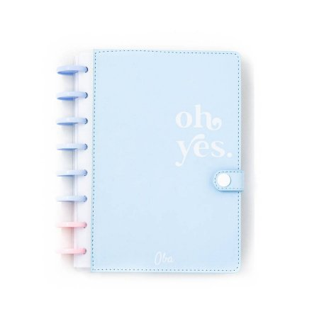 Caderno A5 Oh Yes Blue Oba