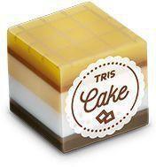 Borracha Tris Cake Marrom
