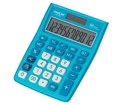 Calculadora 3812 Azul Molin