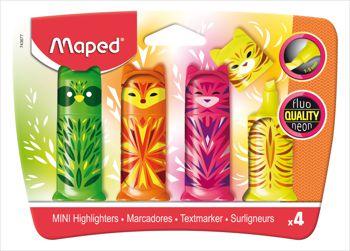 Marca Texto Fluo Peps Mini Friends Maped