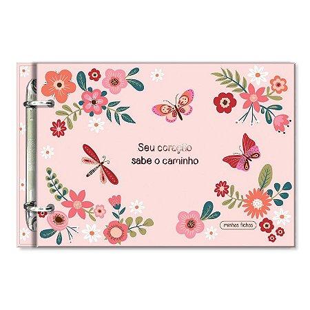 Porta Fichas Borboletas Fina Ideia