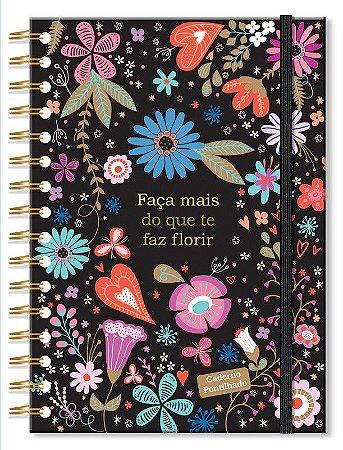 Caderno Pontilhado Fiore